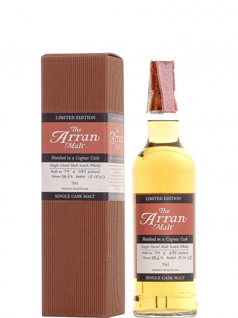 Arran Cognac Finish
