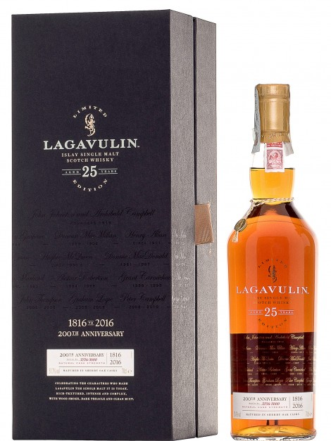 Lagavulin 25 Y.O. 200Th Anniversary