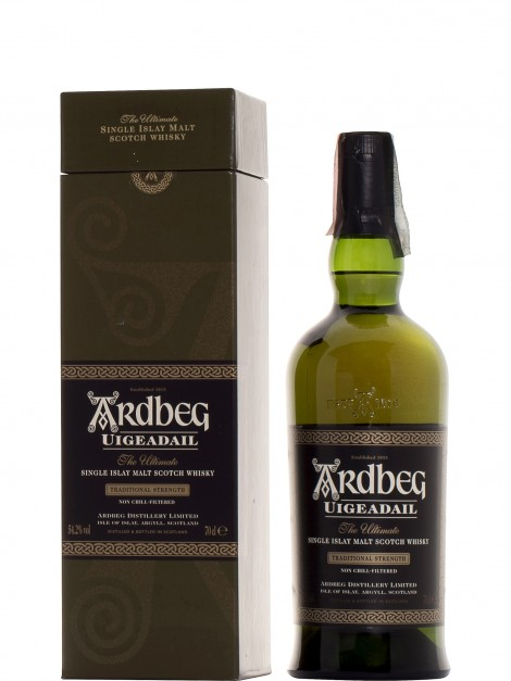 Ardbeg Uigeadail Traditional Strength Bottled 2004
