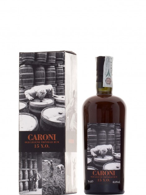 Caroni 1985 15 Year Old Blended Bottled 2006 Rum