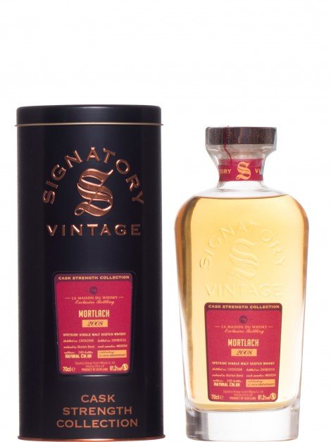 Mortlach 2008 8 Year Old