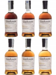 Glenallachie 50th Anniversary 6 bottles