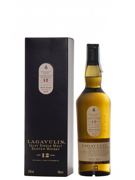 Lagavulin 12 Year Old Natural Cask Strength 2018