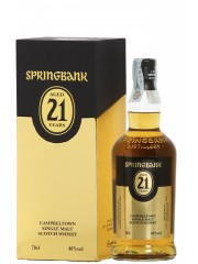 Springbank 21 Years Old 2019 Release