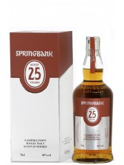 Springbank 25 Years Old 2019 Release