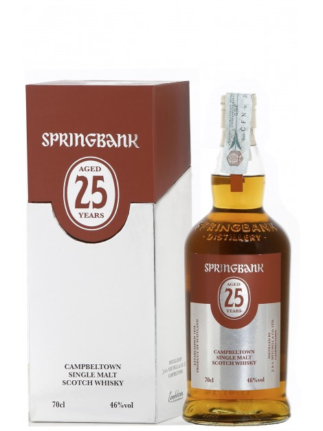 Springbank 25 Years Old 2018 Release