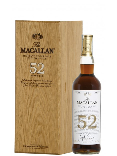 The Macallan 52 Years Old