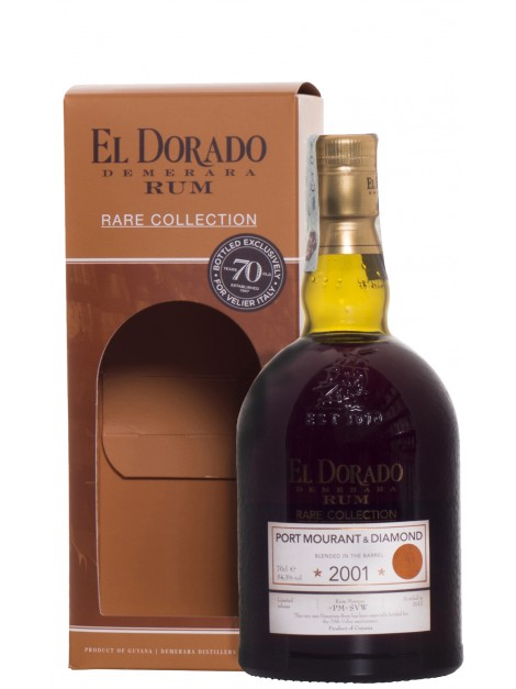 El Dorado Rare Collection Port Mourant & Diamond 2001