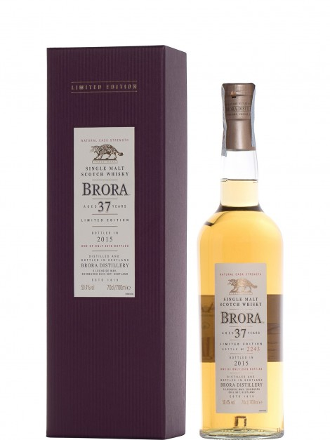 Brora 37 Year Old Bottled 2015