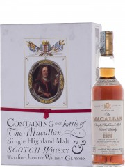 The Macallan 1974 18 Year Old + 2 Jacobean