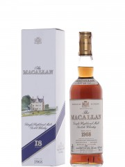 The Macallan 1968 18 Y.O. Sherry Wood - Bottled 1988