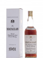 The Macallan 1961 Sherry Wood