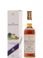 The Macallan 1973 18 Year Old Sherry Wood