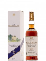 The Macallan 1971 18 Year Old Sherry Wood