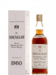 The Macallan 1960 Sherry Wood